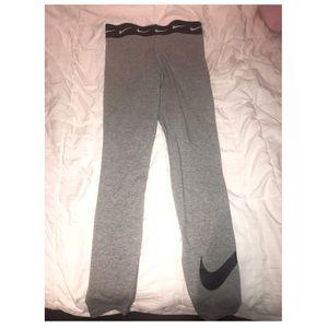 Nike grey tights 💕💕